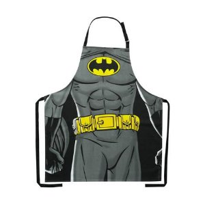 Avental Algodão Wb Dc Or Batman Body Preto