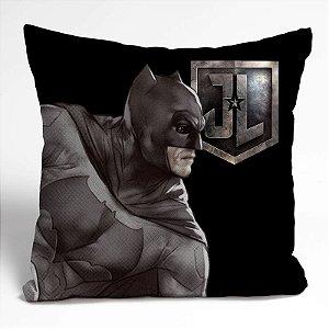 Capa Almofada Poliester Movie Batman Bust Preto