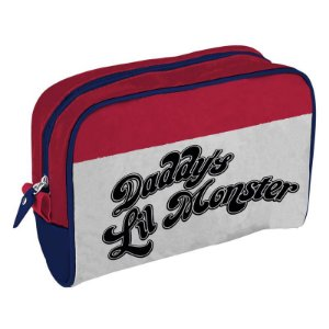Necessaire pu alerquina daddys lil monster 23,5x6,5x17cm