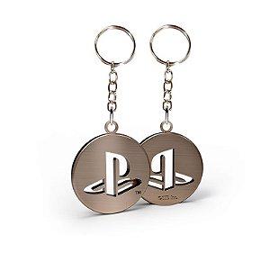 Chaveiro de metal Playstation Modelo 3