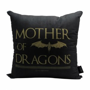 Almofada GOT 40x40cm - Mother of Dragons Veludo