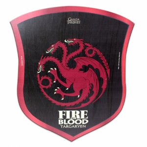 Placa decorativa 30x25 GOT Targaryen Escudo
