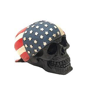 Caveira Bandeira Usa