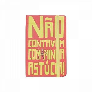 Caderneta De Anotação Chapolin slogan A6