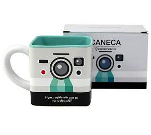 Caneca Cubo Polaroid 300ml