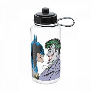 Garrafa plástica Batman x Coringa 1 litro