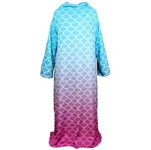 Cobertor com mangas Sereia 1,60x1,30M