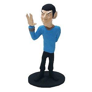 Boneco Star Trek Spock em resina 30cm