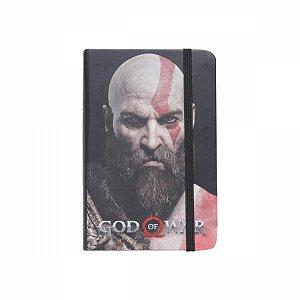 Caderneta De Anotação God OF War Kratos A6