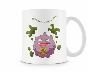 Caneca Pokémon Koffing Coffee