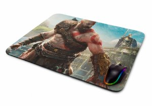 Mousepad Gamer God of War Kratos I