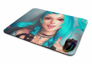 Mousepad Gamer League Of Legends Jinx