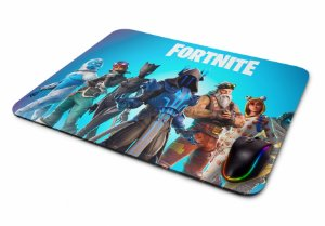 Mousepad Gamer Fortnite Personagens II