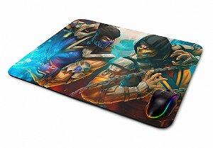 Mousepad Gamer Mortal Kombat Sub zero x Scorpions