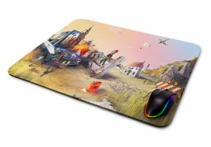 Mousepad Gamer Pugb Desenho