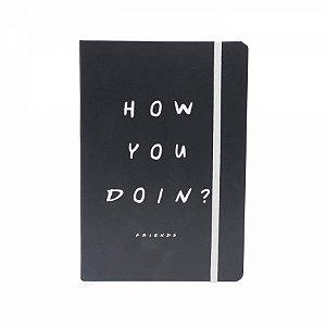 Caderneta De Anotação Friends How you doin A5