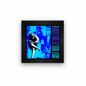 Quadro azulejo com moldura Guns in Roses Use Your IllusionII