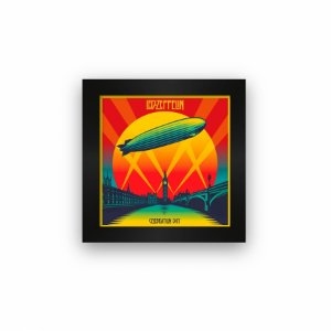 Quadro azulejo com moldura Led Zeppelin Celebration Day