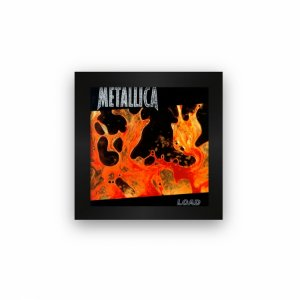 Quadro azulejo com moldura Metallica Load