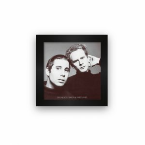 Quadro azulejo com moldura Simon and Garfunkel Bookends