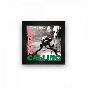 Quadro azulejo com moldura The Clash London Calling