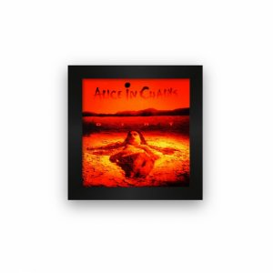 Quadro azulejo com moldura Alice in Chains Dirt