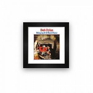 Quadro azulejo com moldura Bob Dylan Bringing