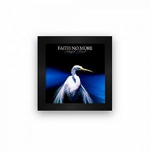 Quadro azulejo com moldura Faith no More Angel Dust