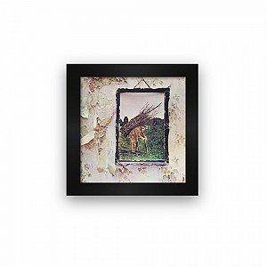 Quadro azulejo com moldura Led Zeppelin IV