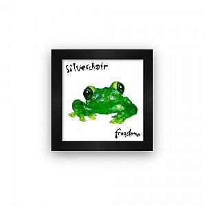 Quadro azulejo com moldura Silverchair Frogstomp