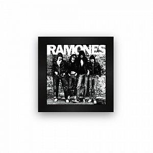 Quadro azulejo com moldura Ramones Album