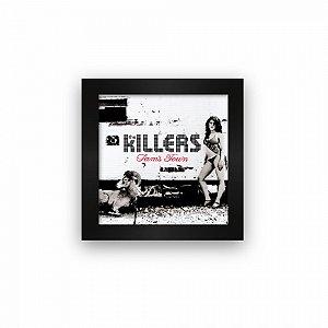 Quadro azulejo com moldura The Killers Sams Town