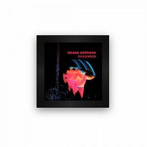 Quadro azulejo com moldura Black Sabbath Paranoid