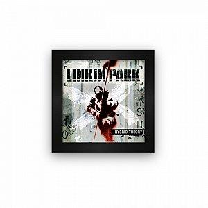 Quadro azulejo com moldura Linkin Park Hybrid Theory