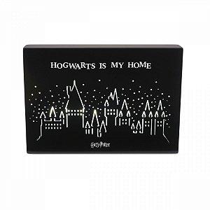 Luminária Quadro Harry Potter Hogwarts