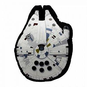 Almofada Star Wars Formato Millennium Falcon Veludo