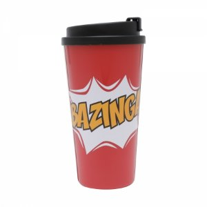 Copo Plástico The Big Bang Theory Bazinga 500ml