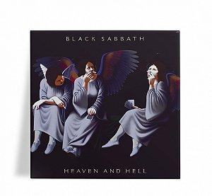 Azulejo Decorativo Black Sabbath Heaven and Hell 15x15