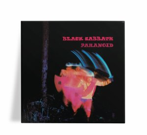 Azulejo Decorativo Black Sabbath Paranoid 15x15