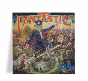 Azulejo Decorativo Elton John Captain Fantastic 15x15