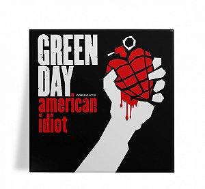 Azulejo Decorativo Green Day American Idiot 15x15