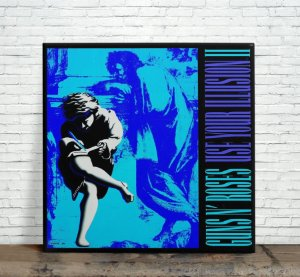Azulejo Decorativo Guns N Roses Use Your Illusion II 15x15