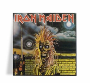 Azulejo Decorativo Iron Maiden 15x15