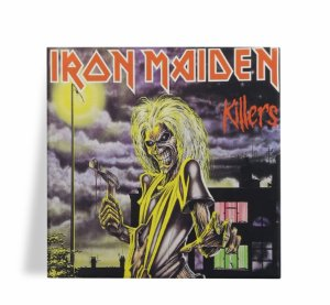 Azulejo Decorativo Iron Maiden Killers 15x15