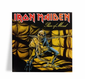Azulejo Decorativo Iron Maiden Piece of Mind 15x15
