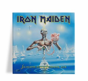 Azulejo Decorativo Iron Maiden Seventh Son 15x15