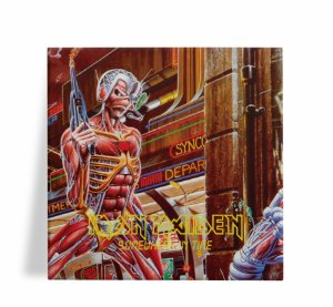 Azulejo Decorativo Iron Maiden Somewhere in Time 15x15