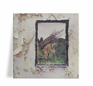 Azulejo Decorativo Led Zeppelin IV 15x15