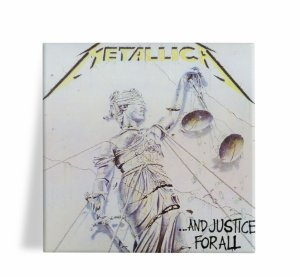 Azulejo Decorativo Metallica And Justice for All 15x15