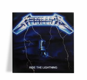 Azulejo Decorativo Metallica Ride the Lightning 15x15
